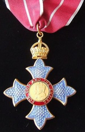 2014 Birthday Honours - Neck badge of a Commander of the Military Division of the Order of the British Empire