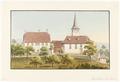 CH-NB - Thunstetten, Pfarrhaus und Kirche - Collection Gugelmann - GS-GUGE-WEIBEL-D-137a.tif