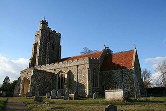 Assington - Image: CHURCH ASSINGTON
