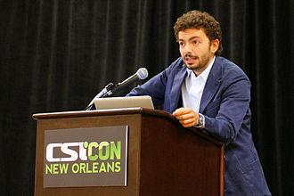 "Massimo Polidoro - Massimo Polidoro participating in ""The Investigators"" panel at CSICon 2011 in New Orleans."