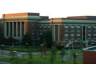 East Memphis, Memphis, Tennessee - Image: CVR College of Engineering administration building, University of Memphis