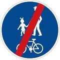CZ-C09b Konec stezky pro chodce a cyklisty.png