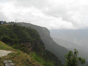 Chicamocha River - Image: Cañon del del rio Chicamocha 001