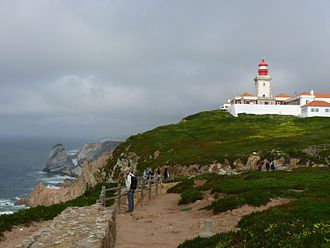 Colares (Sintra) - The extreme western extent of continental Europe: the cliffs of Cabo da Roca in Colares