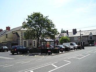 Caerwys - Image: Caerwys Town Square