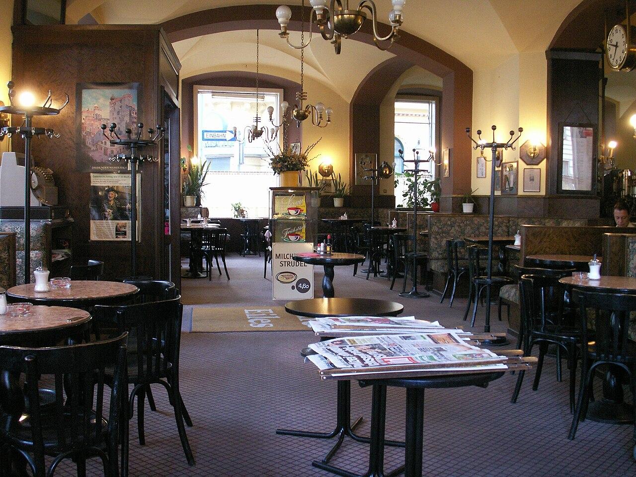 Cafe Sperl Wien Schild