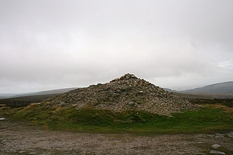 Cairn O' Mounth - The cairn on Cairn O' Mounth