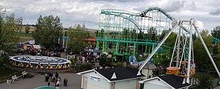 Calaway Park amusement park in Alberta, Canada