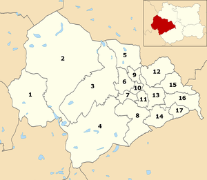 Calderdale Metropolitan Borough Council - Wards within Calderdale Council