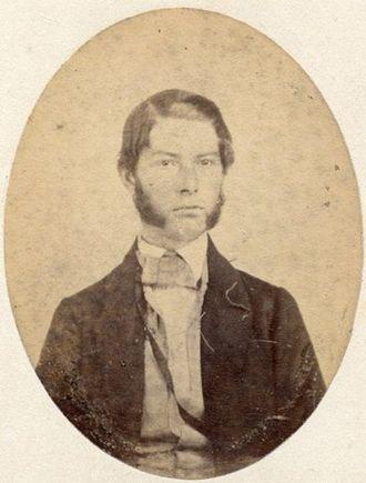 Caleb S. Pratt - Photograph by Black, Boston, Mass.