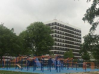 Calisthenics - Park in Osdorp, Amsterdam, NLD where one can practice calisthenics.