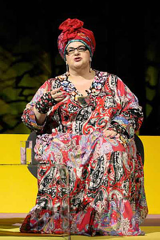 Camila Batmanghelidjh - Camila Batmanghelidjh at the NHS Confederation annual conference, July 2011