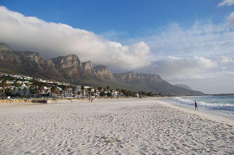 Camps Bay Beach, Cape Town.
