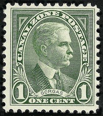 William C. Gorgas - Maj. Gen. William C. Gorgas, honored on Canal Zone Postage
