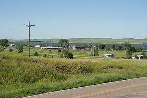 Cannon Ball, North Dakota - Cannon Ball River