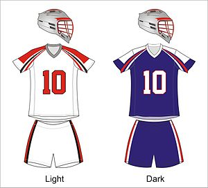 Boston Cannons - Cannons uniforms