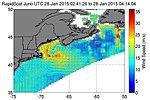 Cape Cod Nor'easter seen by RapidScat on 2015-01-28.jpg