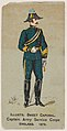 Captain Army Service Corps, England, 1879, from the Military Series (N224) issued by Kinney Tobacco Company to promote Sweet Caporal Cigarettes MET DPB874102.jpg