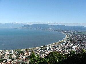 Caraguatatuba - Image: Caraguatatuba panorama