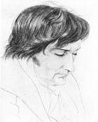 Wilhelm Schadow 1818 (Zeichnung von Karl Philipp Fohr) (Quelle: Wikimedia)