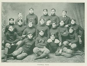 1900 Carlisle Indians football team - Image: Carlisle Indians (1900 team picture)