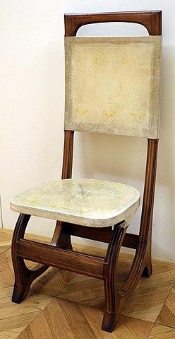 File carlo bugatti coppia di sedie da sala da pranzo 1904 10 ca 02 jpg wikimedia commons - Sedie da sala da pranzo ...