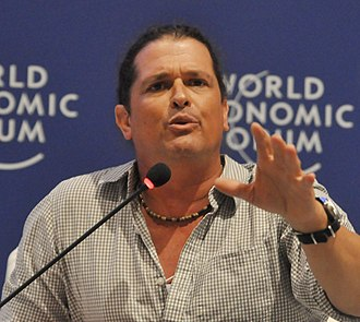 La Voz (U.S. TV series) - Image: Carlos Vives World Economic Forum on Latin America 2010