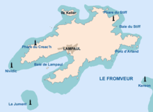 Carte Bretagne Ouessant.Ouessant Wikipedia