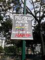 Carteles de Protesta en Plaza Francia de Altamira.jpg