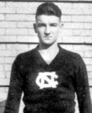1924 NCAA Men's Basketball All-Americans - Cartwright Carmichael of North Carolina.