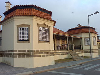São Félix da Marinha - House at São Félix da Marinha, by the sea.