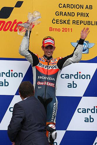 Casey Stoner - Stoner at the 2011 Czech Grand Prix