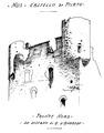 Castello di pilato, fronte nord, da disegno d andrade, fig 211, disegno nigra.tiff