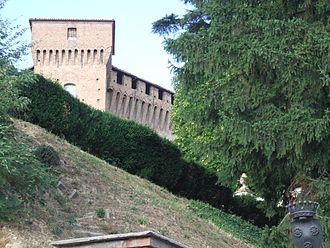 Roero - The castle of the Roero family at Monticello d'Alba.
