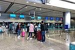 Cathay Pacific check-in counters at Hong Kong Station (20190129132336).jpg
