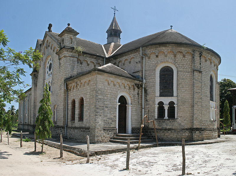 File:Catholic Church Bagamoyo.jpg