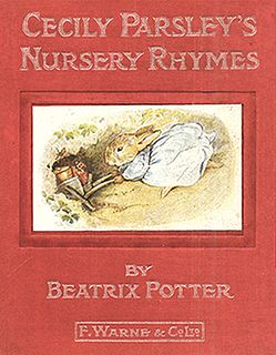 <i>Cecily Parsleys Nursery Rhymes</i> childrens book written and illustrated by Beatrix Potter