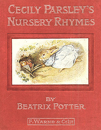Cecily Parsley's Nursery Rhymes - First edition cover