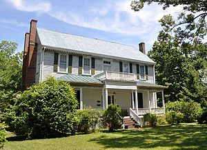 National Register of Historic Places listings in Halifax County, North Carolina - Image: Cellar Plantation