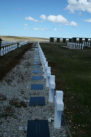 Argentine Military Cemetery - The Cemetery in 2008