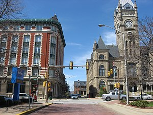 National Register of Historic Places listings in Butler County, Pennsylvania - Image: Central Butler Historic District