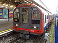 Central line train, Ealing Broadway station.jpg