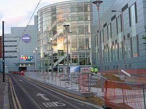 Centrale (Croydon) - Western entrance to Centrale