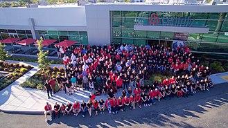 Centrify - 2017 company photo at Santa Clara HQ
