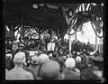 Ceremony. Group includes Edwin Denby, Calvin Coolidge, William H. Taft, John W. Weeks, Charles Evans Hughes, Andrew W. Mellon, and others LCCN2016891384.jpg