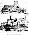 Château de Beaucens - Vues - 1866 - M de Caumont -.JPG