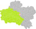 Châtenoy (Loiret) dans son Arrondissement.png