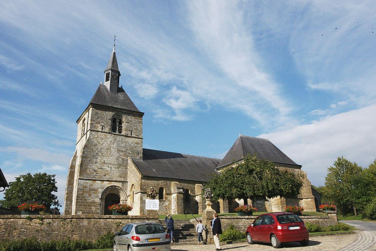 Chémery-sur-Bar (08 Ardennes) - l' Église Saint Sulpice à Chémery sur Bar - Photo Francis Neuvens.JPG