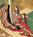 Illustration of The Tale of Genji, painted by Tosa Mitsuoki (1617–1691).
