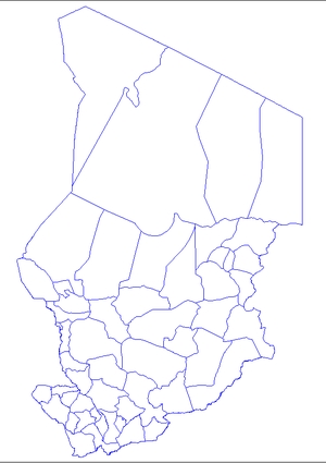 Departments of Chad - Departments of Chad